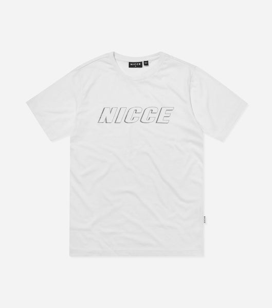 Nicce Mens Boxer T-Shirt | White