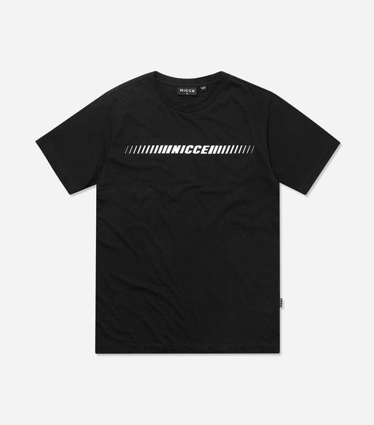 Nicce Mens Arrio T-Shirt | Black