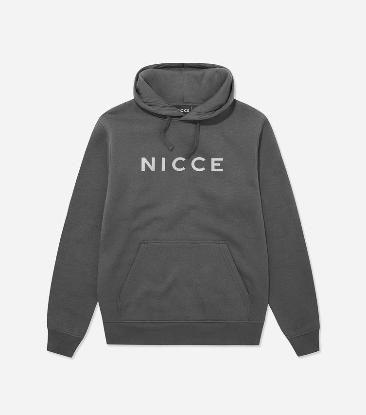 Nicce Mens Shine Hood | Coal/ Reflective