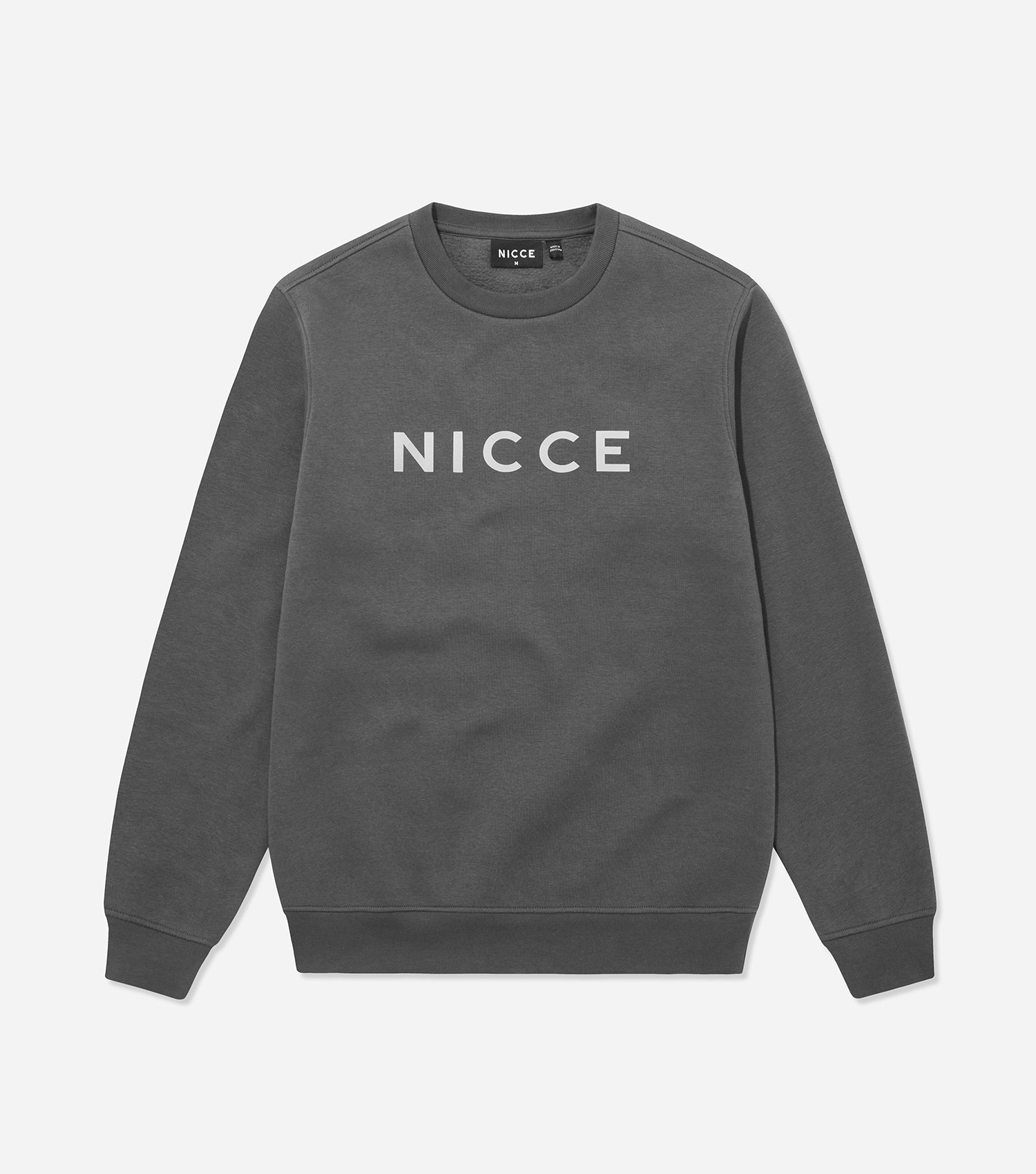 Nicce Mens Shine Sweat I Coal