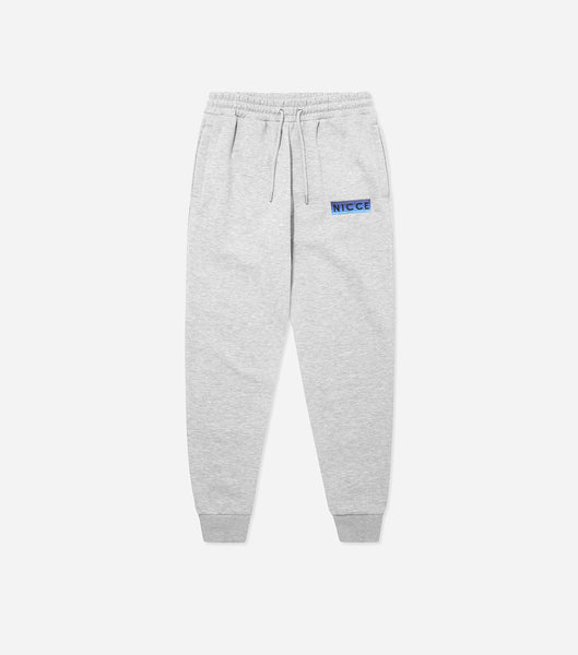 Nicce Mens Alto Jogger | Light Grey Marl