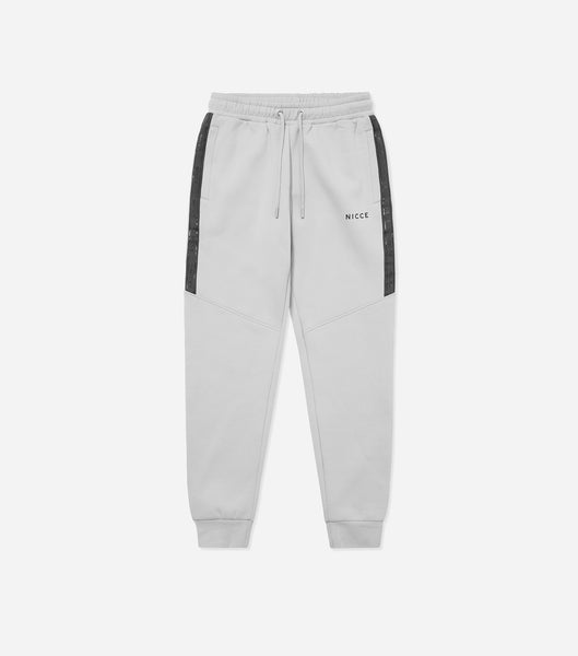 Nicce Mens Cadence Joggers | Stone Grey