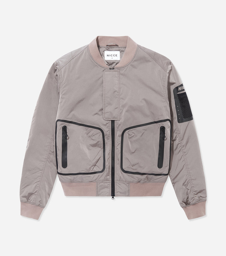 Nicce Mens Jacket Type 8-21 | Dusty Pink