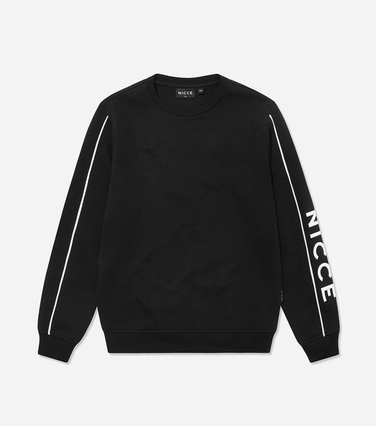 Nicce Mens Geti Sweat | Black