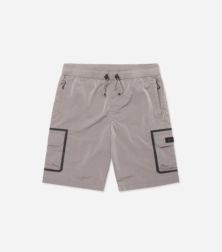 Nicce Mens Track Shorts Type 1-21 | Dusty Pink