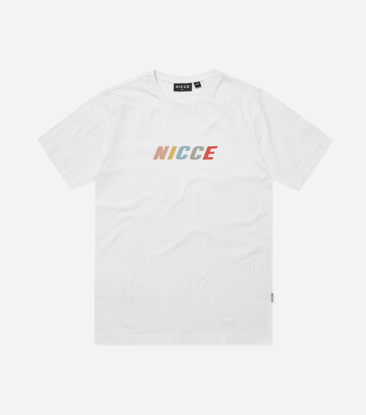 Nicce Mens Myriad T-Shirt | White