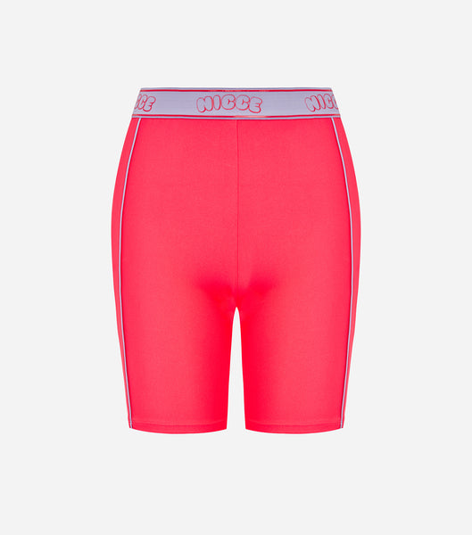 Nicce Womens Carbon Cycling Shorts | Diva Pink/ Violet