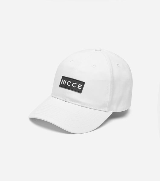 NICCE Mens Acer Cap | White
