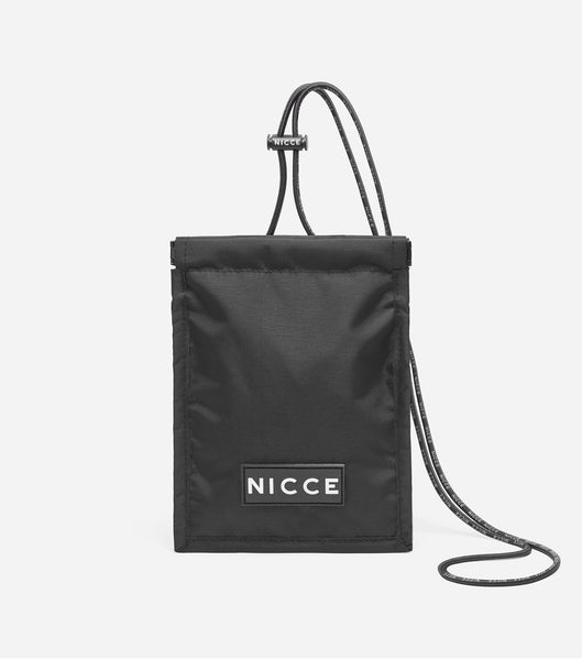NICCE Ace Neck Pouch | Black, Bags