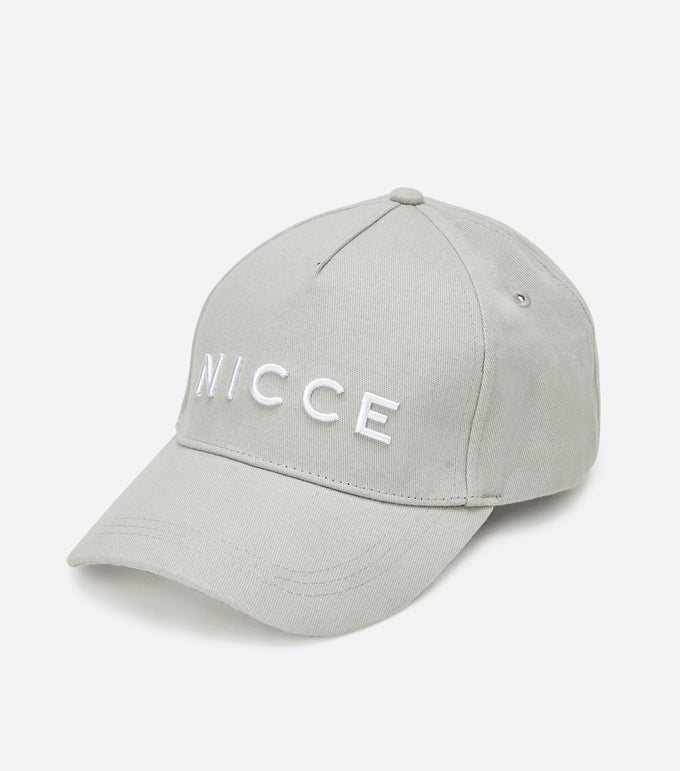 NICCE Mens Argon Cap | Grey / White, HAT