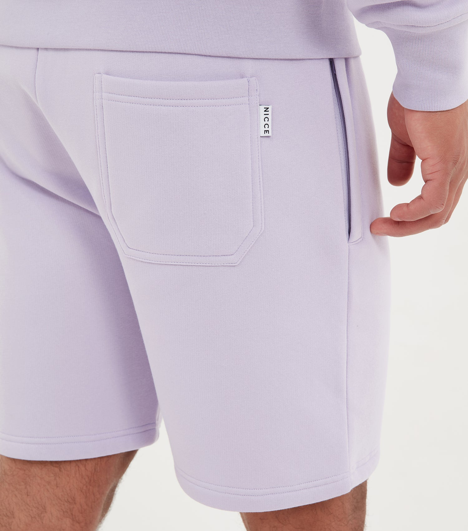 NICCE Mens Base Jog Shorts | Liliac, Shorts