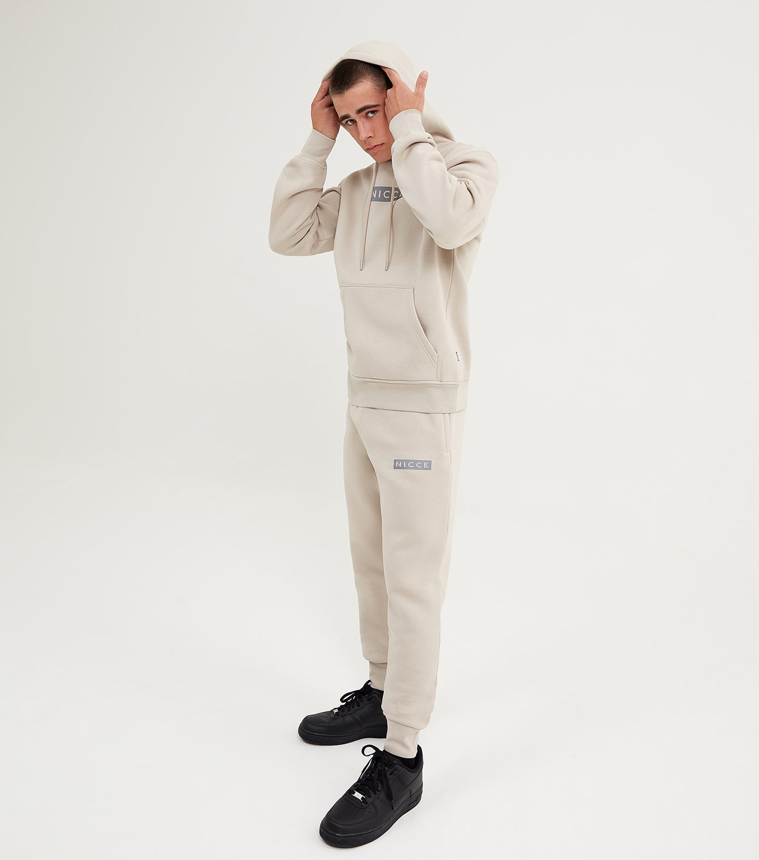 NICCE Mens Base Joggers | Beige