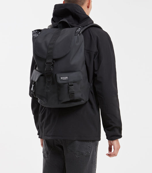 NICCE Carni Drawstring Backpack | Black, Bags