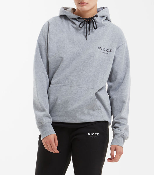 A classic hood from our original collection, featuring the NICCE chest logo, drawstring hood and cuffed sleeves and hem. A simple and easy piece, great to layer and throw on with jeans or joggers.