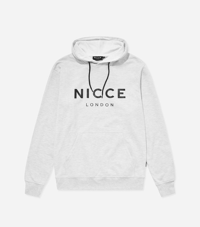 NICCE London Mens Original Hood | Birch Grey, Hoodies
