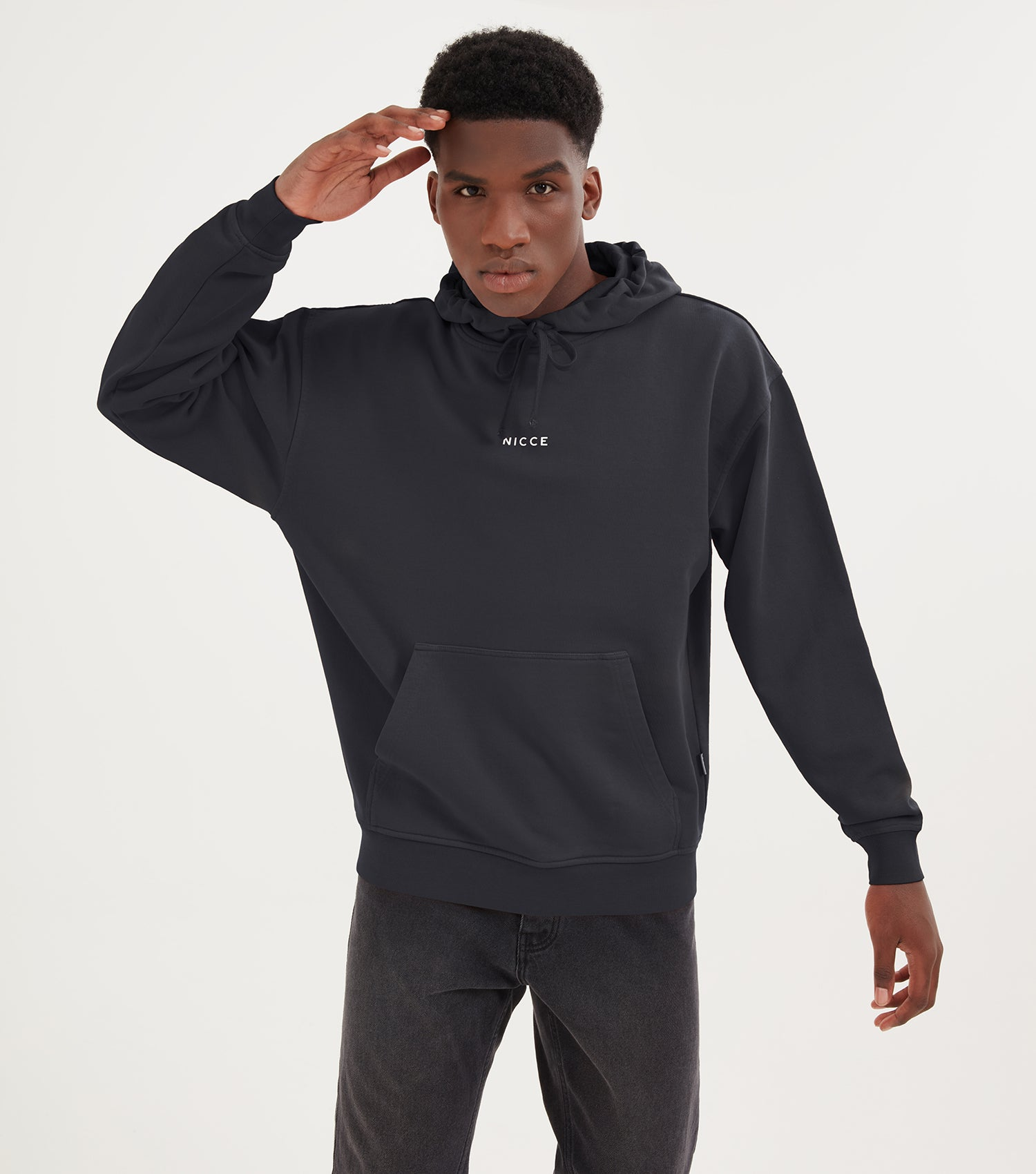 NICCE Mens Chroma OS Hood | Castle Rock Black