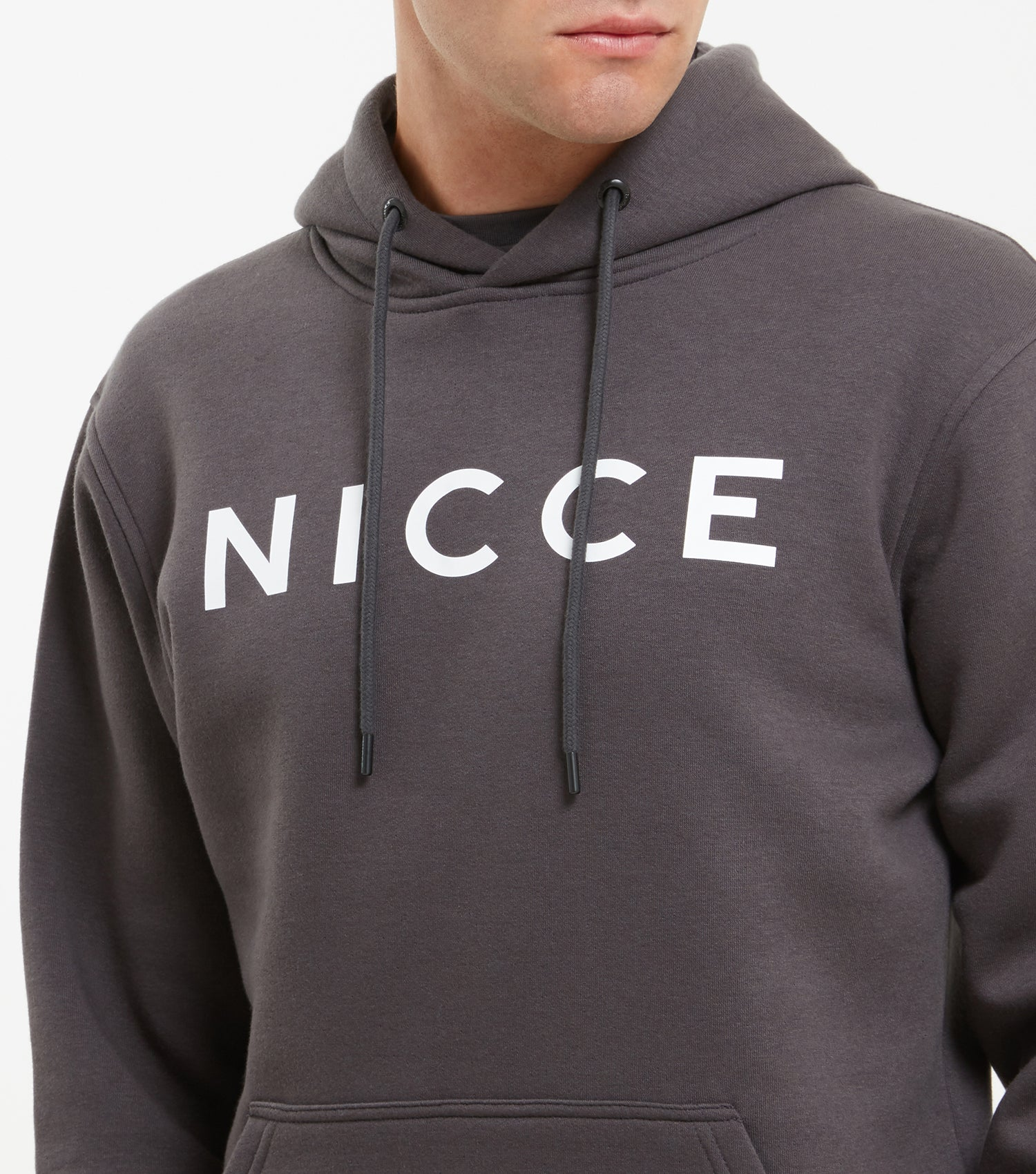 NICCE Mens Original Hood | Coal, Hoodies