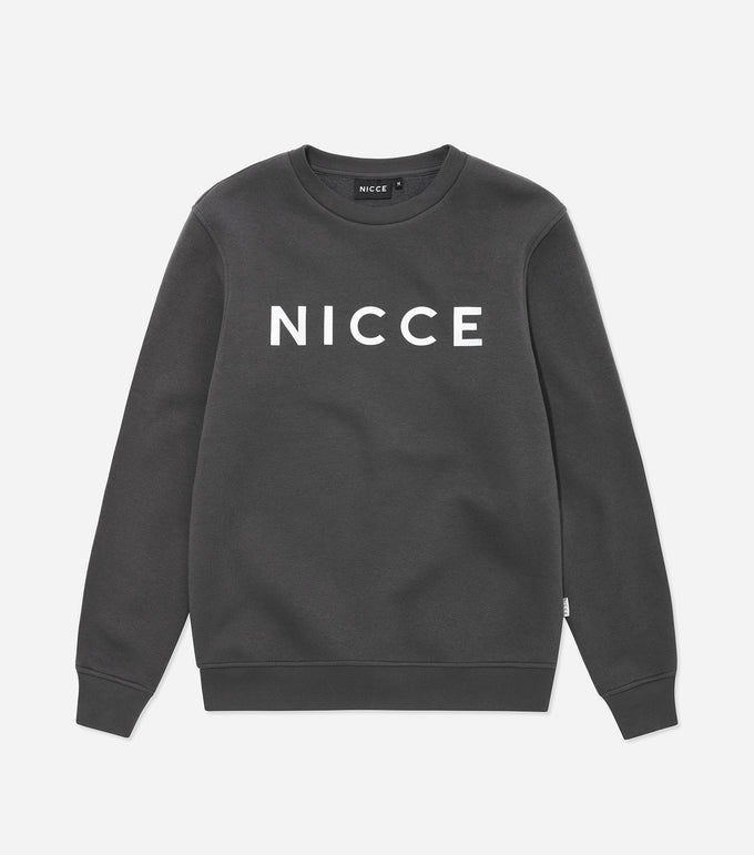 NICCE Mens Original Sweat | Coal, Sweatshirts
