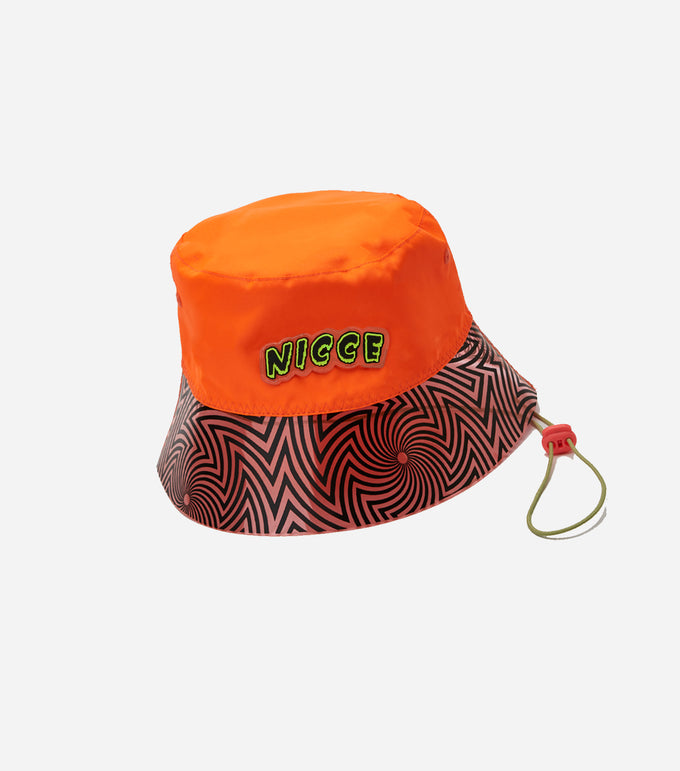 NICCE Womens Cranium Hat | Shocking Orange / Black, Hats