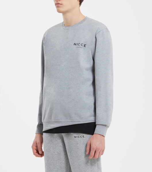 NICCE LONDON MENS ORIGINAL SWEAT | GREY