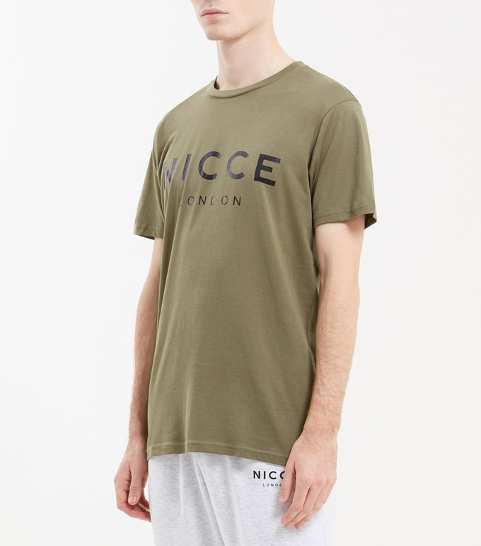 NICCE London Mens Original T Shirt | Khaki, T-Shirts