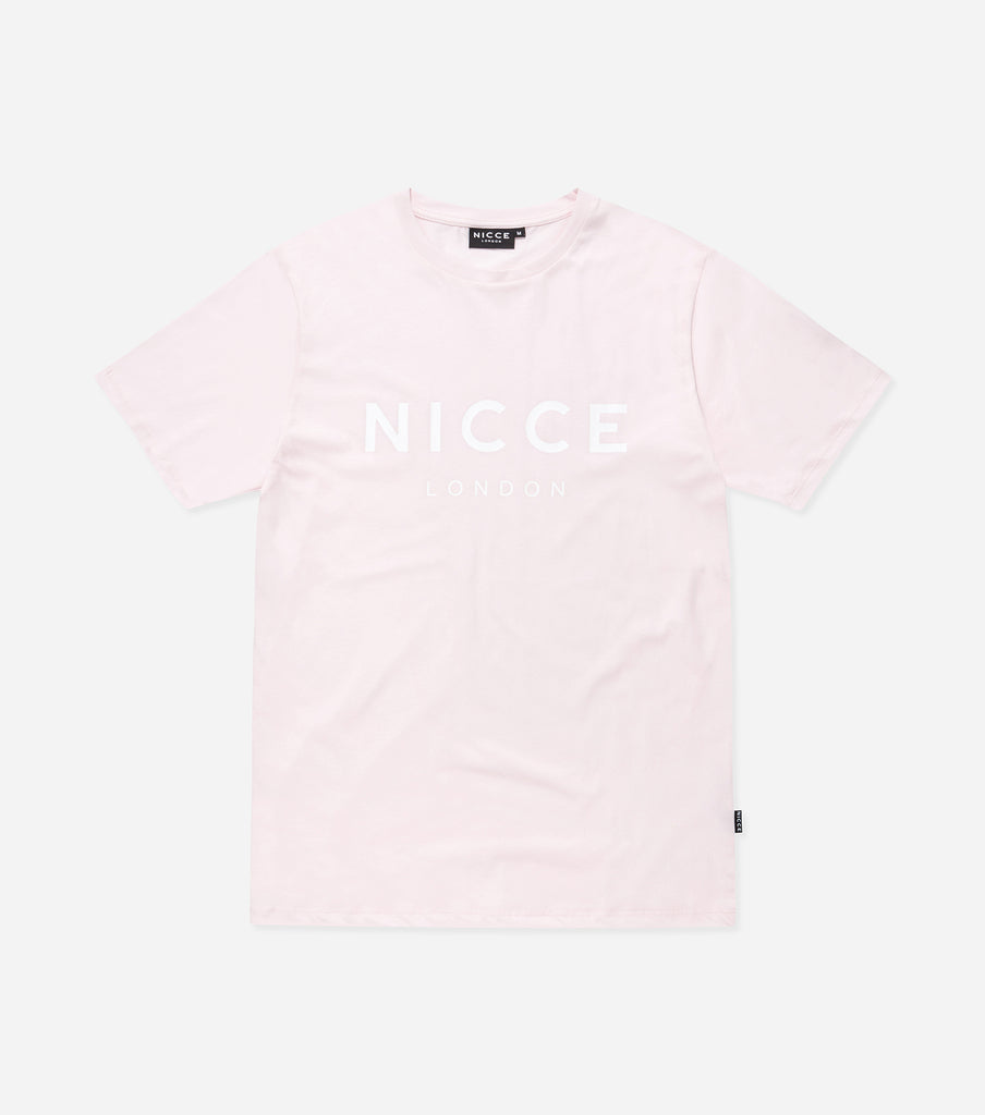 NICCE London Mens Original T-Shirt | Pink, T-Shirts