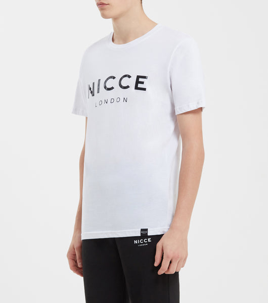 NICCE LONDON MENS ORIGINAL T-SHIRT | WHITE