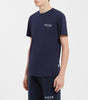 NICCE LONDON MENS CHEST LOGO T-SHIRT | NAVY