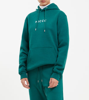 A relaxed style and classic piece, the Original Hood has an oversized shape, drawstring hood and is finished with the NICCE centre chest original logo. An essential for every wardrobe.