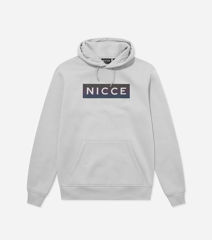 NICCE MENS Dock Hood | Stone Grey, Hoodies
