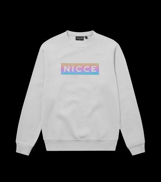 NICCE MENS Dock Sweat | Stone Grey, Sweatshirts