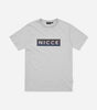 NICCE MENS Dock T-Shirt | Stone Grey, T-Shirts