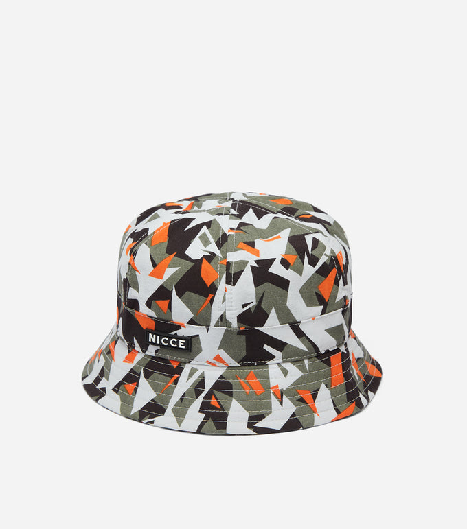NICCE Glitch Bucket Hat | Orange