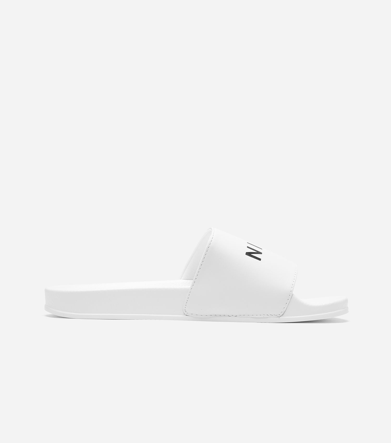 NICCE Mens Joey Slider | White, Footwear