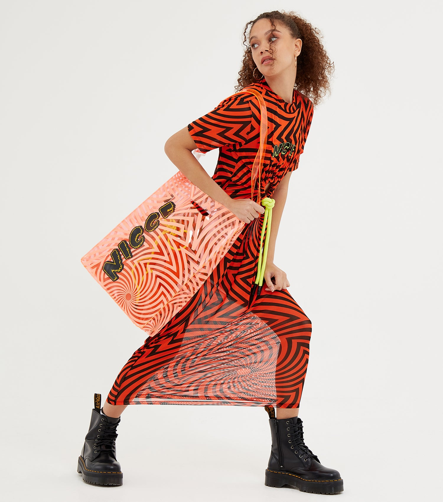NICCE Womens Levitate Bag | Fiery Coral / White, Bags