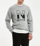 NICCE CAMPUS SWEAT | GREY MARL