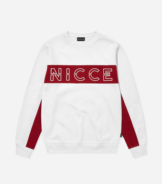 NICCE COLT SWEAT | WHITE