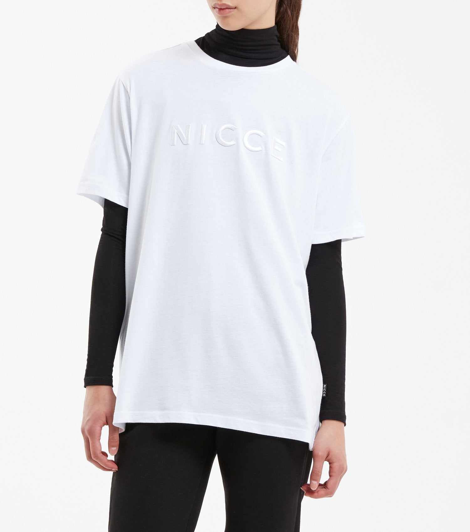 Nicce Contemporary Casualwear Streetwear For Men And Women Coup Classic Short Pant Grey Featuring Crew Neck Sleeves With Raised Embroidered