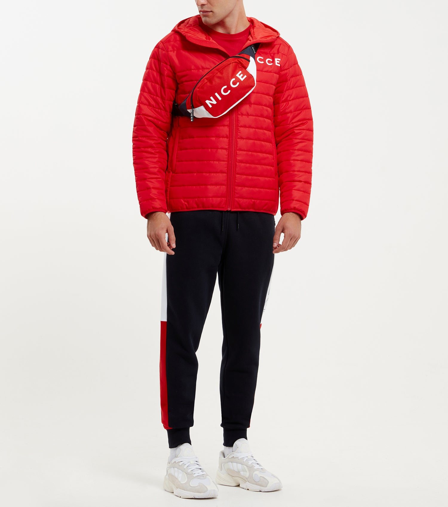 fc19c74aa8 ... Aspen jacket in red. Features quilted design in a ripstop fabric