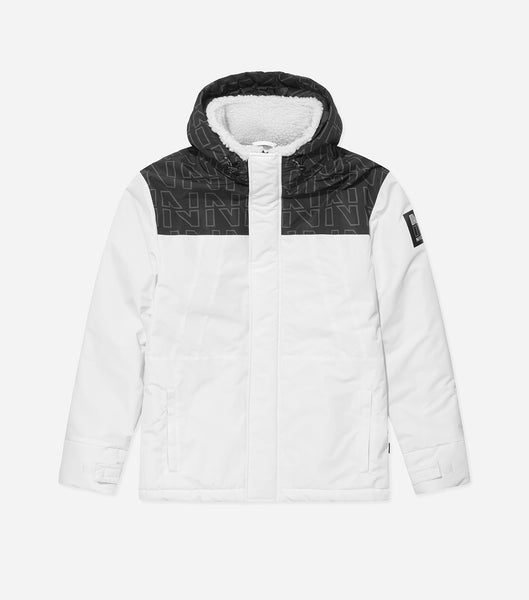 NICCE Mens Stratton Jacket | White
