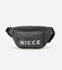 NICCE MERCY BUM BAG | CHARCOAL/WHITE, Bags