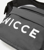 NICCE MERCY BUM BAG | CHARCOAL/WHITE, BAG
