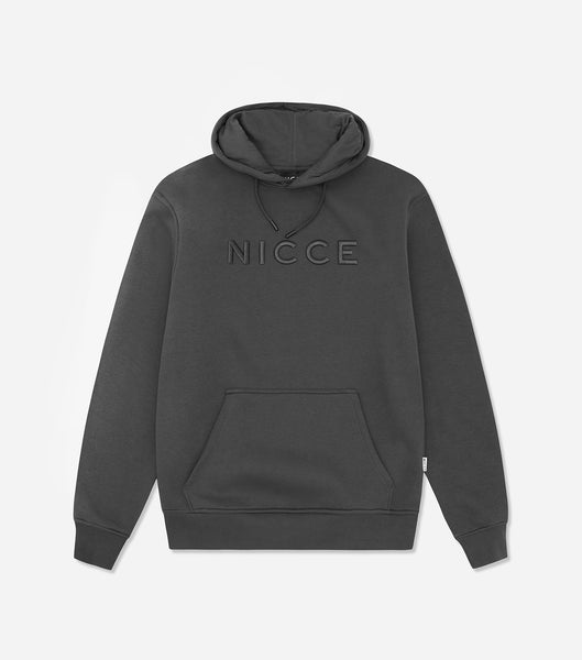 NICCE Mens Mercury Hood | Coal, Hoodies