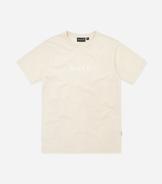 NICCE Womens Centre Logo T-Shirt | Cream, T-Shirts
