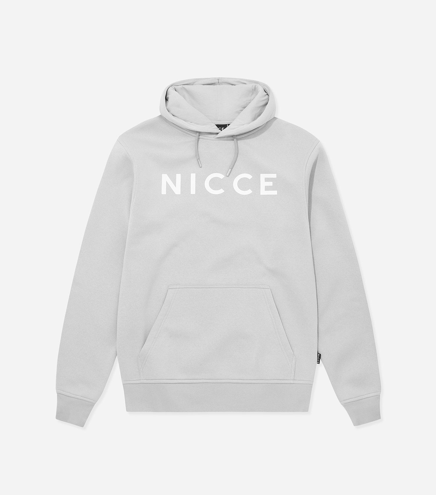 NICCE Womens Original Hood | Micro-Chip Grey, Hoodies