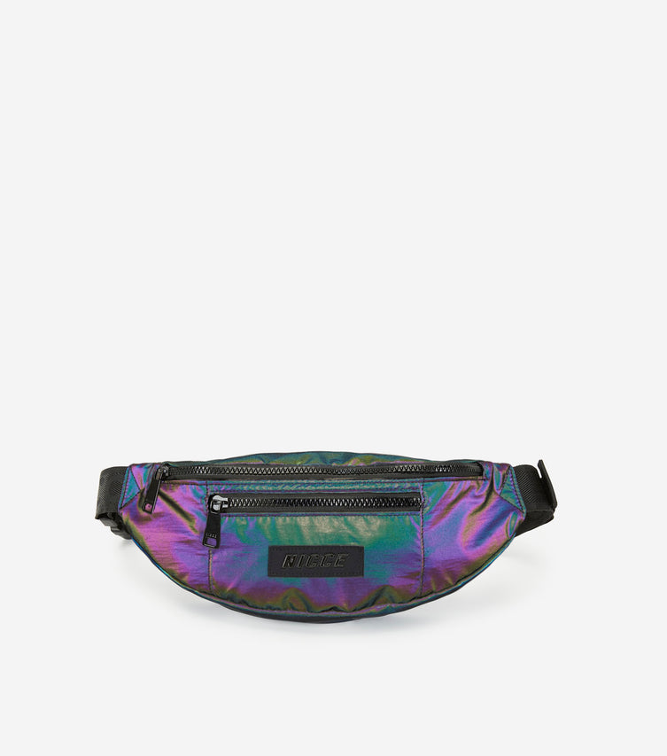 NICCE NITRO BUM BAG | REFLECTIVE / BLACK, Bags