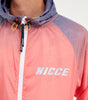 Nicce Mens Reflective Orbit Jacket | Orange Multi, Outerwear