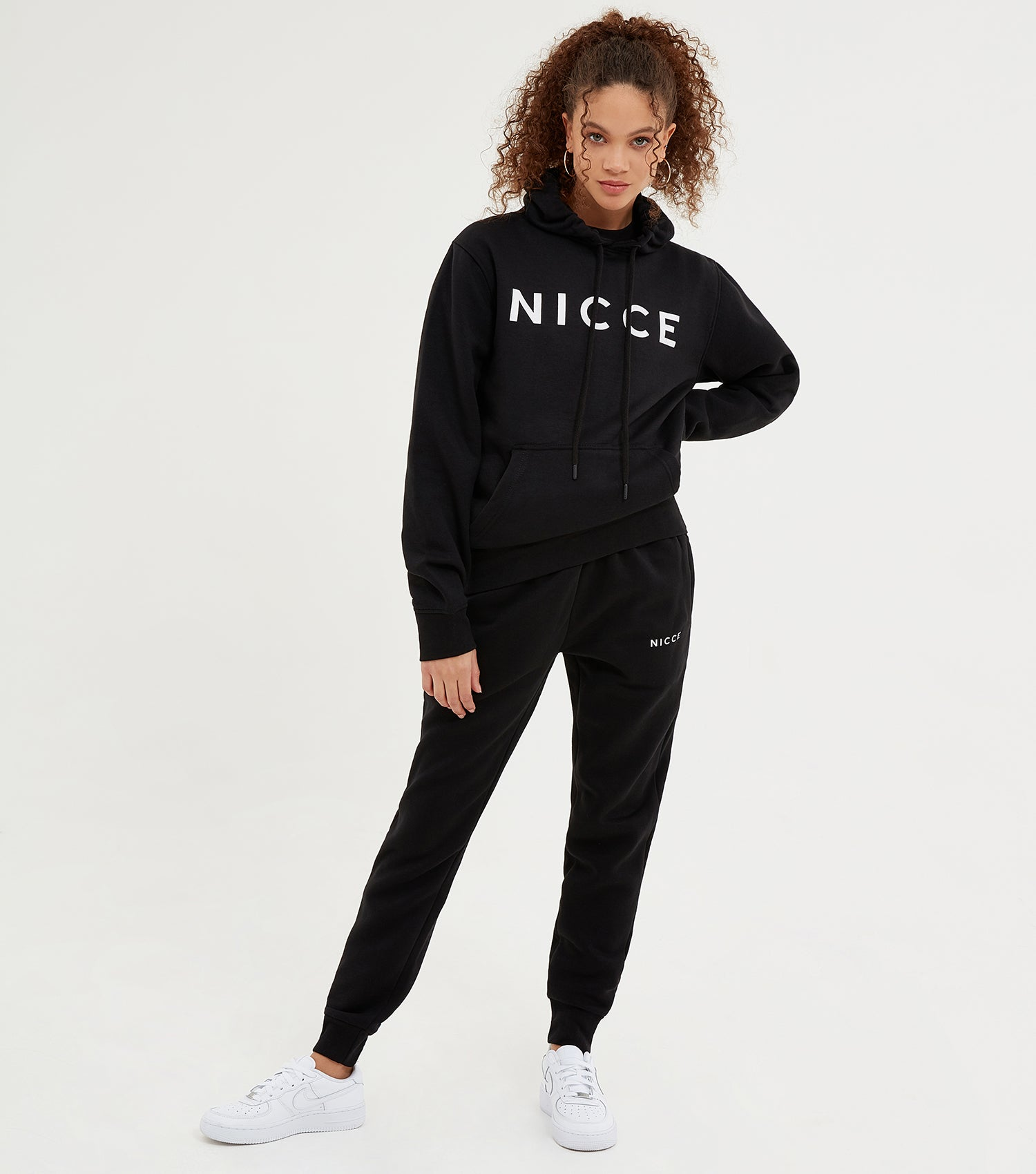 NICCE Womens Original Hood | Black, Hoodies
