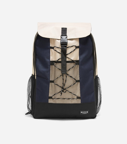 Designed for practicality and style this stone backpack featuring a front zipped pocket, NICCE logo badge and adjustable straps.