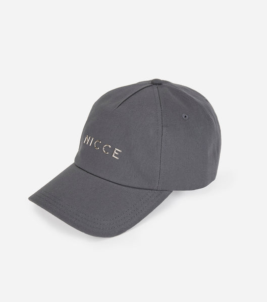 NICCE RIFT CAP | CHARCOAL / SILVER, Hats